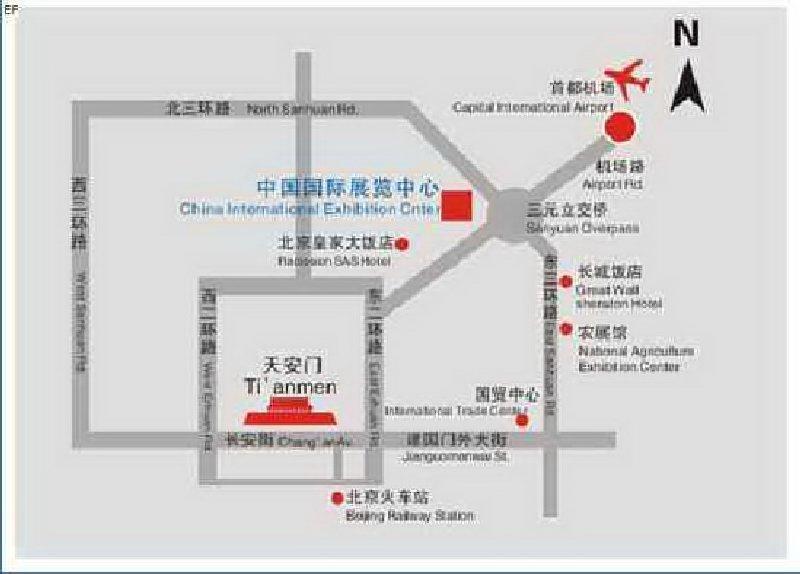 中国国际展览中心(老馆)交通图