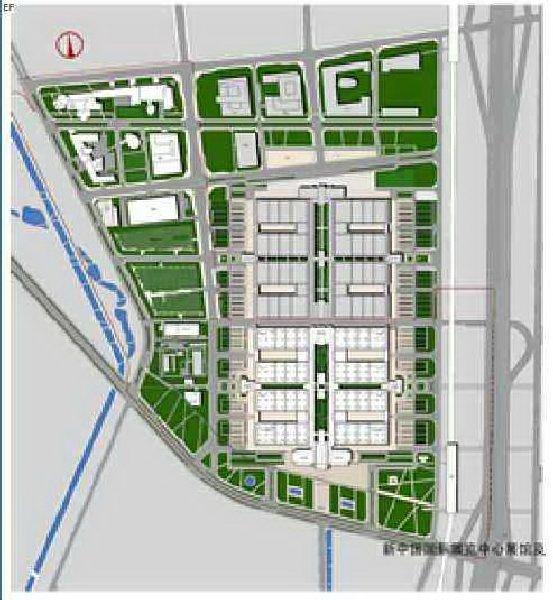 中国国际展览中心(新馆)场馆图